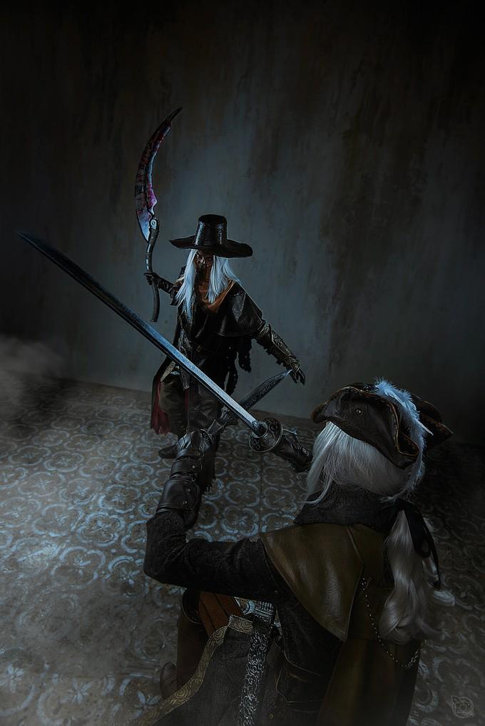 Пятничный косплей: Bloodborne, Bioshock и Cyberpunk 2077