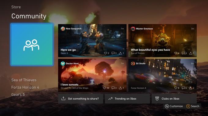 Участникам инсайдерской программы доступно обновление интерфейса Xbox One