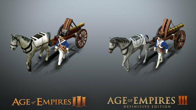 Сравнение Age of Empires III: Definitive Edition с оригиналом на новых скриншотах