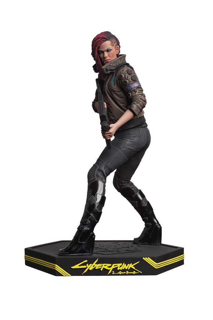 Dark Horse представила фигурку женской версии Ви из Cyberpunk 2077, а также комикс Trauma Team