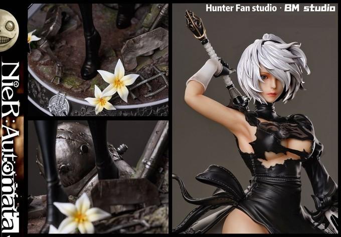 Hunter Fan Studio начала продажи фигурки 2B за 360 долларов