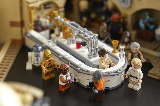 Новый набор LEGO воссоздаст знаменитую сцену с Ханом Соло и Гридо