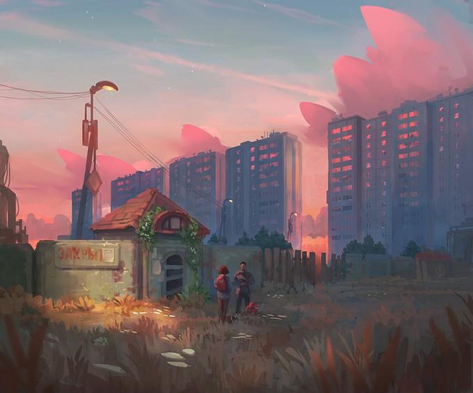 Фантастические Миры: Denis Istomin