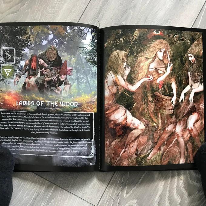 Поклонник The Witcher 3: Wild Hunt выпустил собственный бестиарий