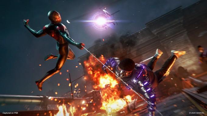 Новый геймплей Spider-Man: Miles Morales c PS5, релиз в ноябре