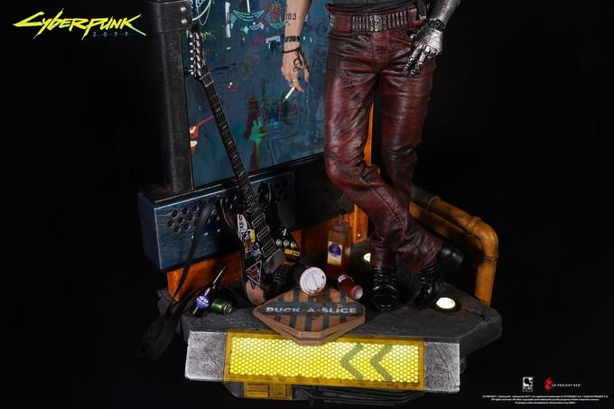 Представлена фигурка Джонни Сильверхенда из Cyberpunk 2077 за 900 долларов