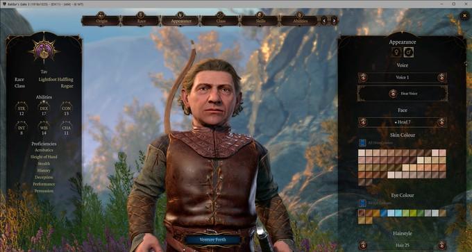 Моддеры добавили новые опции в редактор героев Baldur's Gate 3