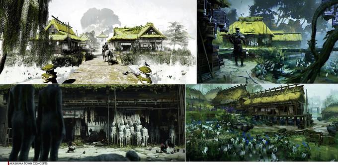 Sucker Punch рассказала о художественной работе над Ghost of Tsushima