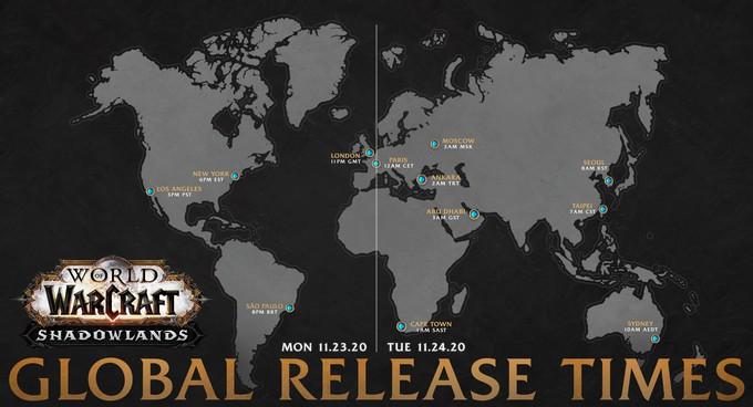 World of Warcraft: Shadowlands выйдет 24 ноября