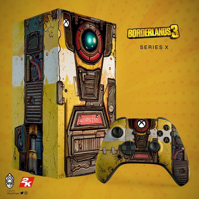 2K показала Xbox Series X в стиле Железяки из Borderlands