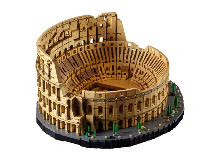 LEGO выпустит самый большой набор в истории — Колизей на 9036 деталей