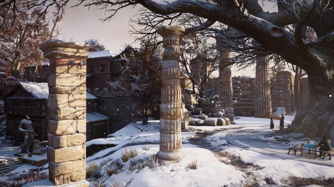 Игрок сравнил места из Assassin's Creed Valhalla — как они выглядят сегодня и тысячу лет назад
