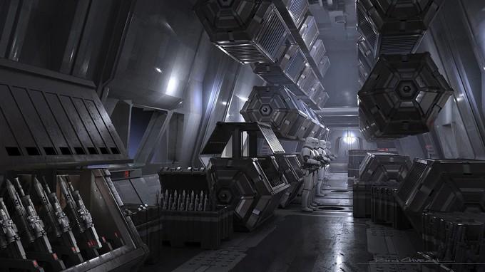 "Наследница — концепт-арты третьего эпизода ""Мандалорца"""