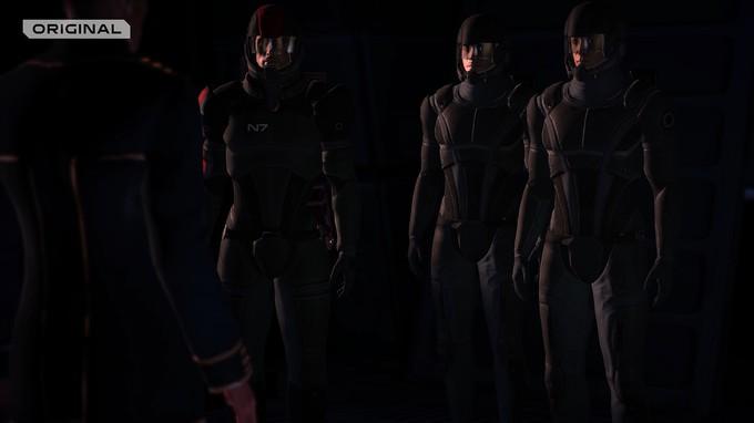 Трейлер-сравнение Mass Effect Legendary Edition c оригинальными играми