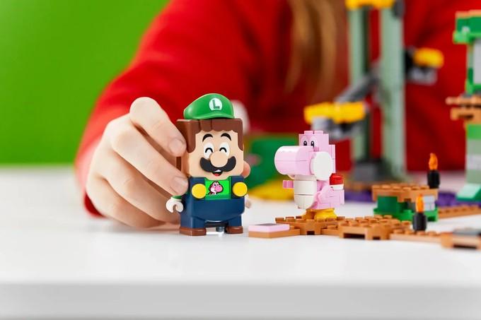 LEGO представила набор с Луиджи из серии Super Mario Adventures