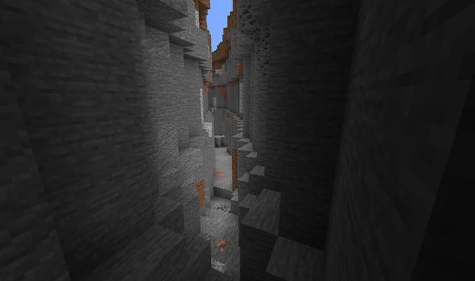 Игрок Minecraft превратил случайную расселину в подземную улицу, напоминающую Косой Переулок