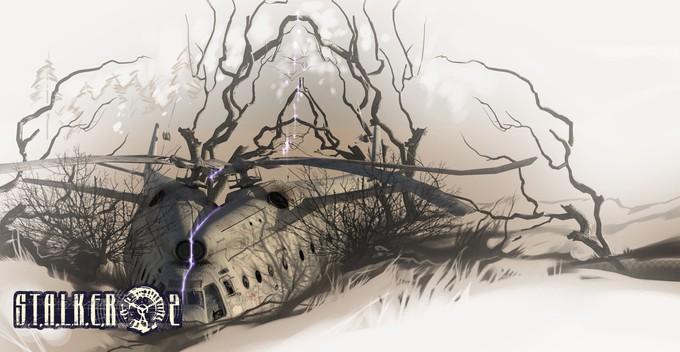 Концепт-арты отмененной версии S.T.A.L.K.E.R. 2