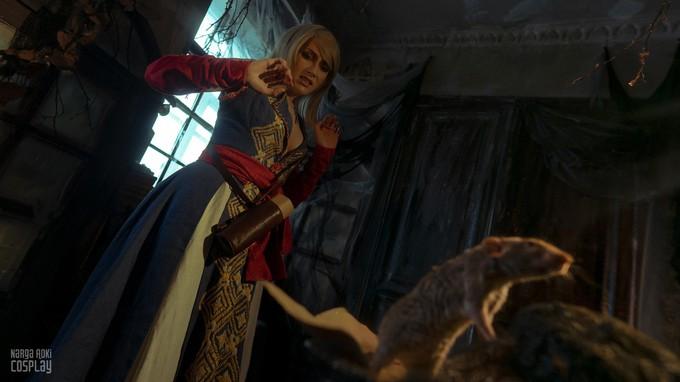 Пятничный косплей: The Witcher 3, American McGee's Alicе и One-Punch Man