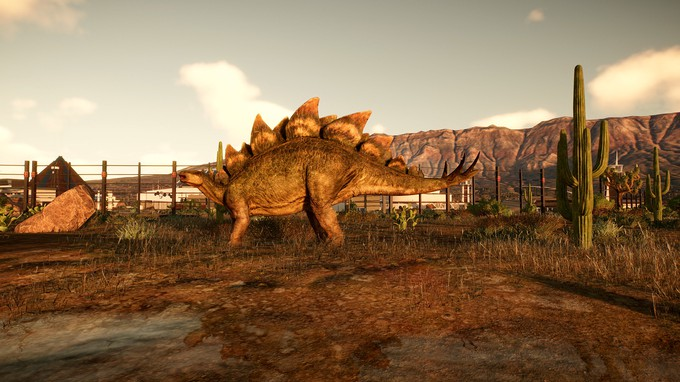Первые скриншоты Jurassic World Evolution 2