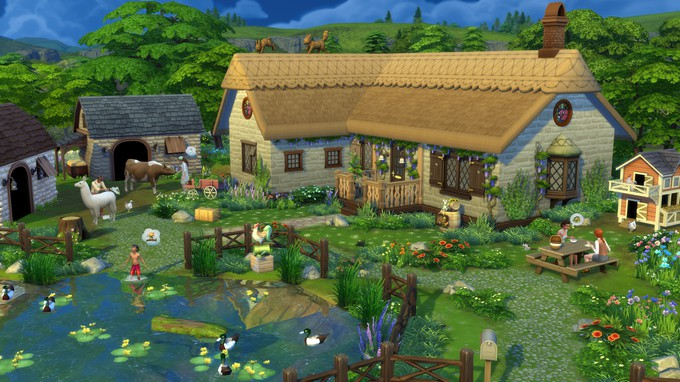 Десятое платное расширение The Sims 4 посвящено загородной жизни — релиз 22 июля