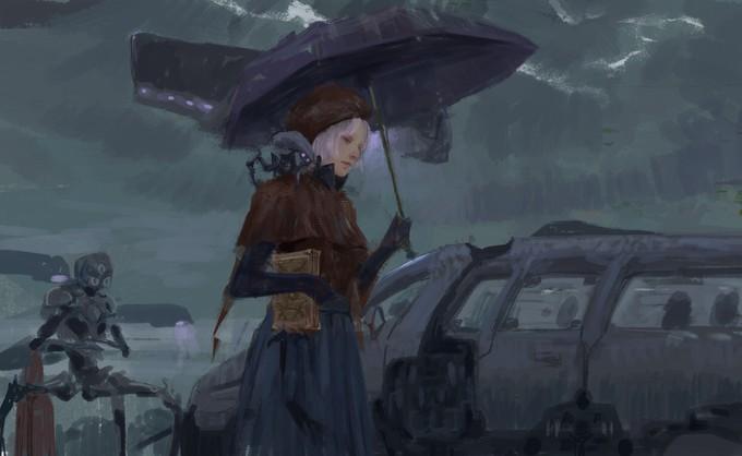 Фантастические миры: Мрак и девушки от Liu Xuan