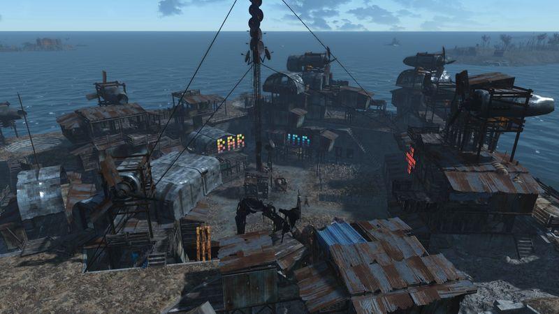 Fallout 4 мод Замок