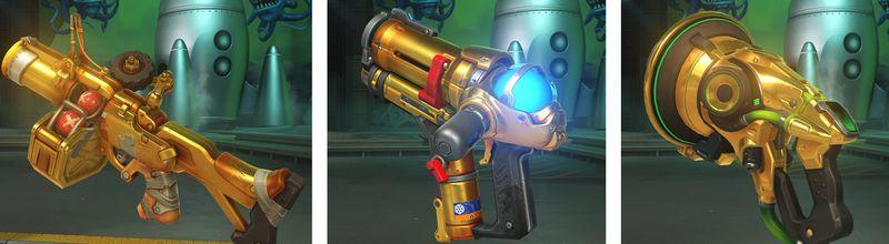 Как получить золотое оружие в Overwatch?