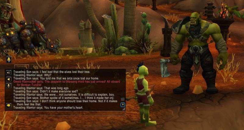 Пасхалка в WoW: Кратос и Атрей обсуждают сожжение Тельдрассила