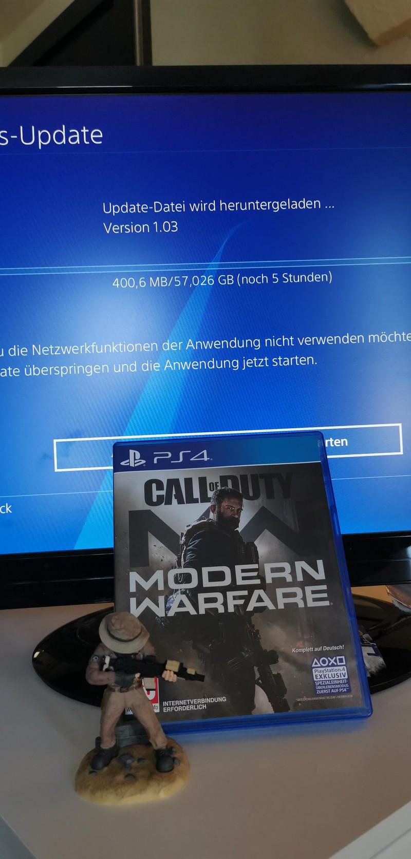 Физическая версия Call of Duty: Modern Warfare потребует скачать 107 Гб патчей