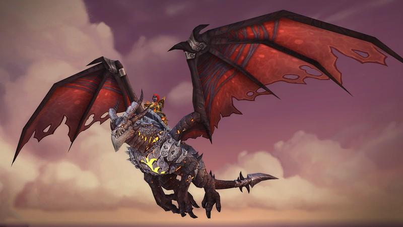Obsidian Worldbreaker из юбилейного ивента World of Warcraft