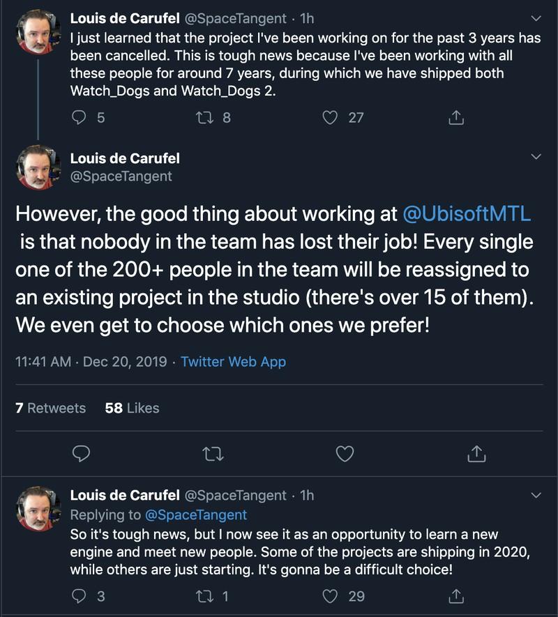 Ubisoft закрыла разработку нового IP, над которым работала три года