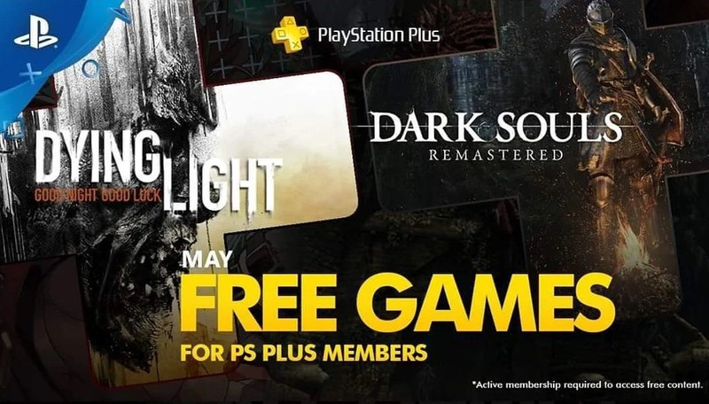 Слух: подписчики PS Plus в мае получат Dying Light и Dark Souls Remastered