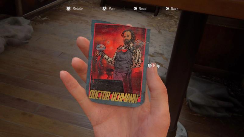Гайд The Last of Us 2 — как найти все коллекционные карточки