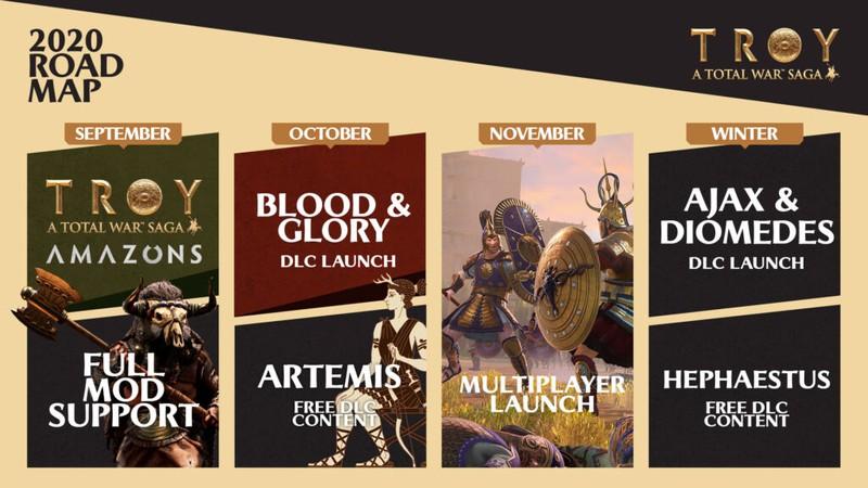 Total War Saga: Troy получит мультиплеер в ноябре