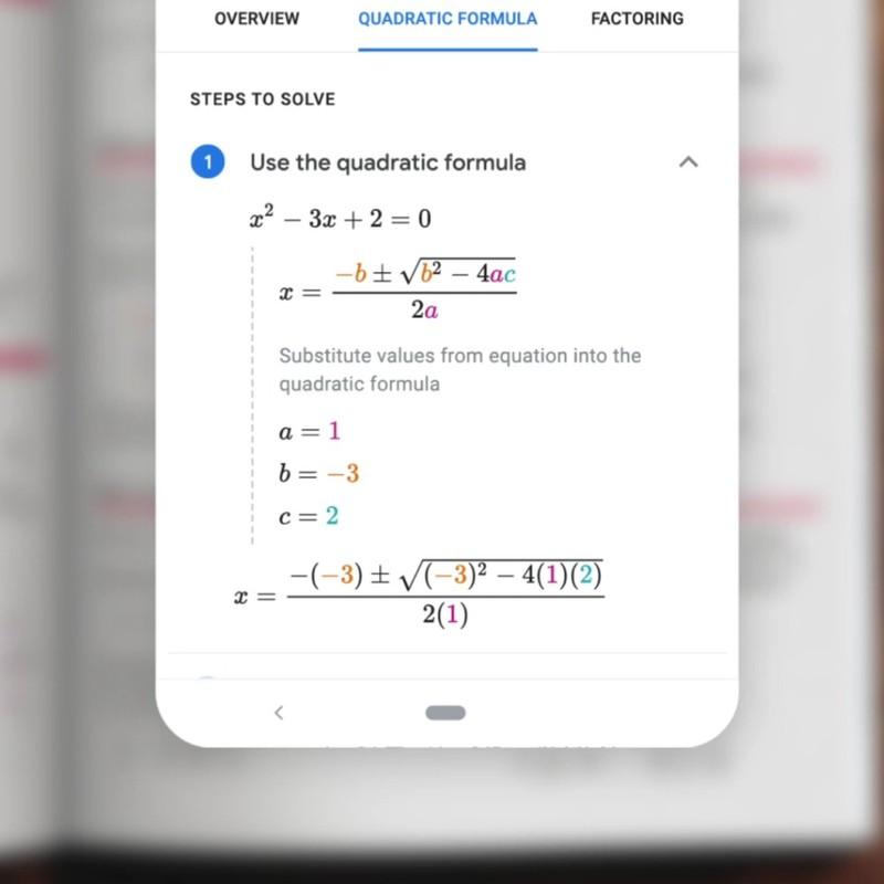Новый фильтр Google Lens будет решать задачи по математике