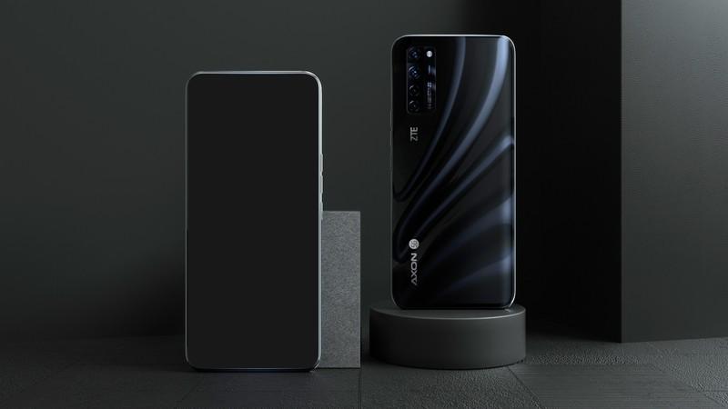 ZTE показала первый в мире серийный смартфон с подэкранной камерой