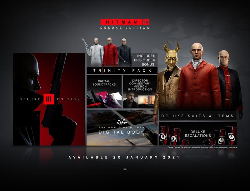 Hitman 3 выйдет 20 января, предзаказы открыты