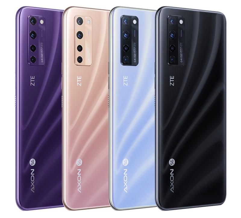 ZTE официально представила первый коммерческий смартфон со скрытой камерой