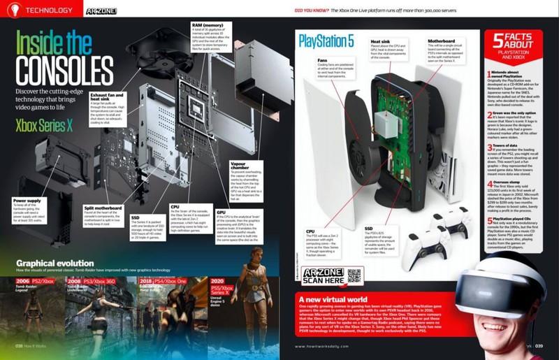 Вот как может выглядеть консоль PS5 изнутри