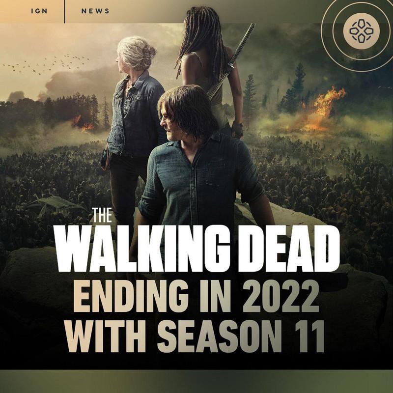 """IGN: 11 сезон """"Ходящих мертвецов"""" станет последним"""