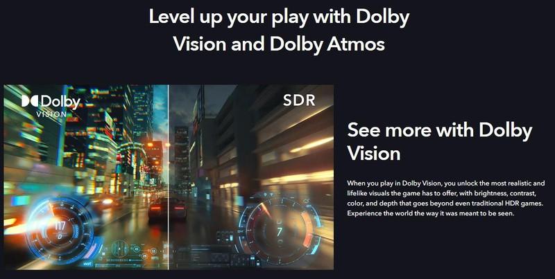 Xbox Series S и Series X станут первыми консолями с поддержкой Dolby Vision и Dolby Atmos
