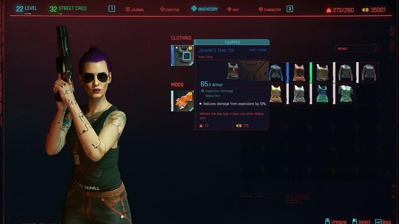 Гайд Cyberpunk 2077 — все вещи Джонни Сильверхэнда