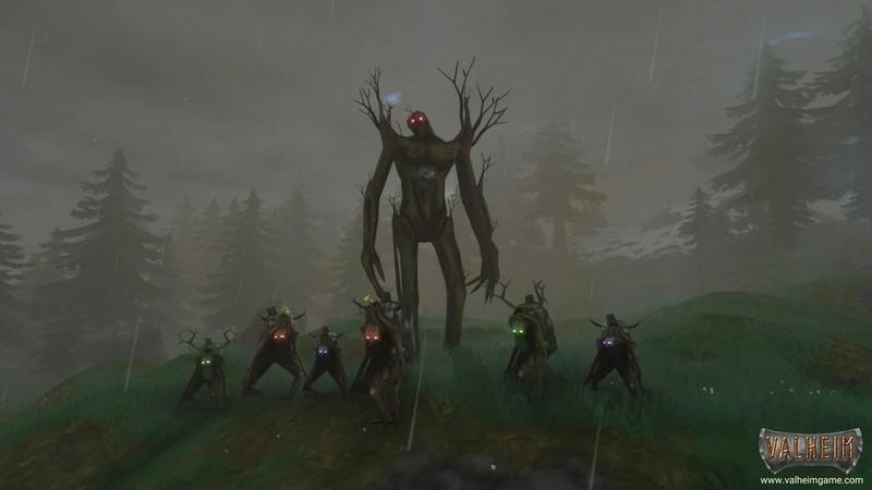 Как вызывать всех боссов в сурвайвале Valheim