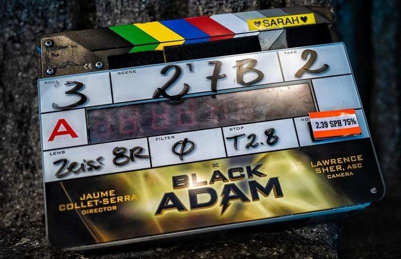 "Стартовали съемки ""Черного Адама"""