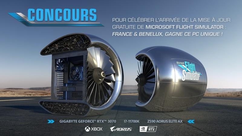 Microsoft разыгрывает уникальный PC в форме двигателя самолета