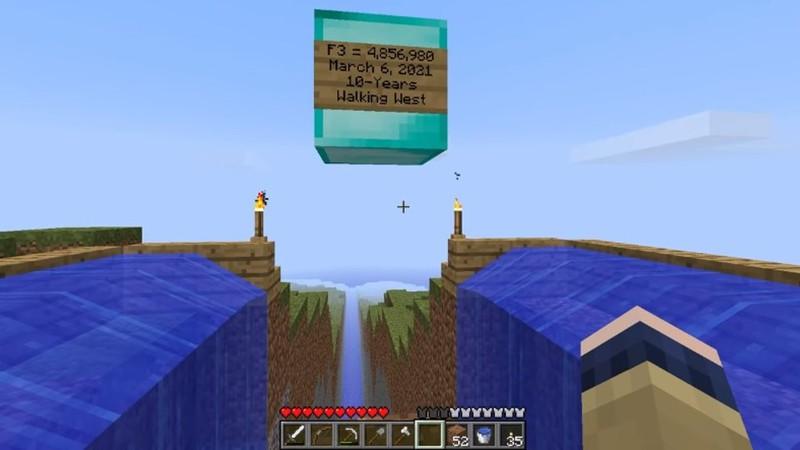 """Как игрок Minecraft десять лет идет в """"далекие земли"""""""