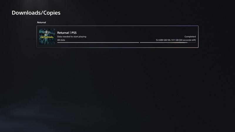 Стартовала предзагрузка Returnal — игра весит 56 ГБ