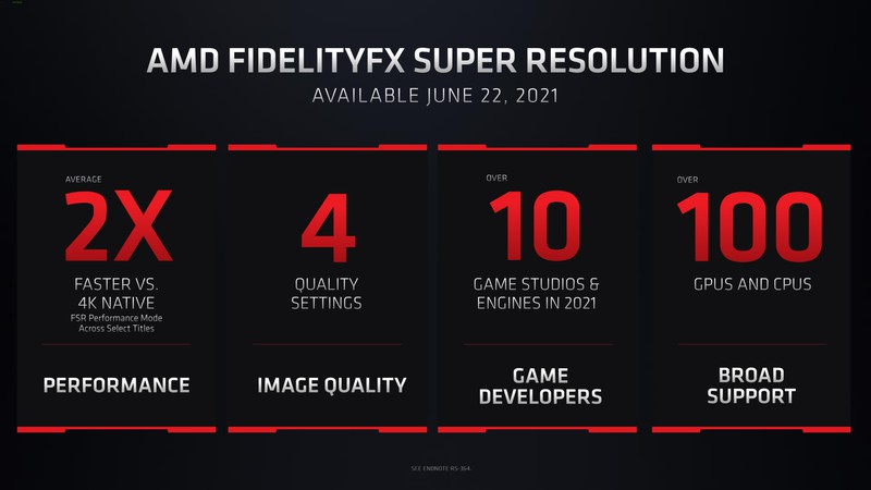 AMD запустит свой аналог Nvidia DLSS 22 июня