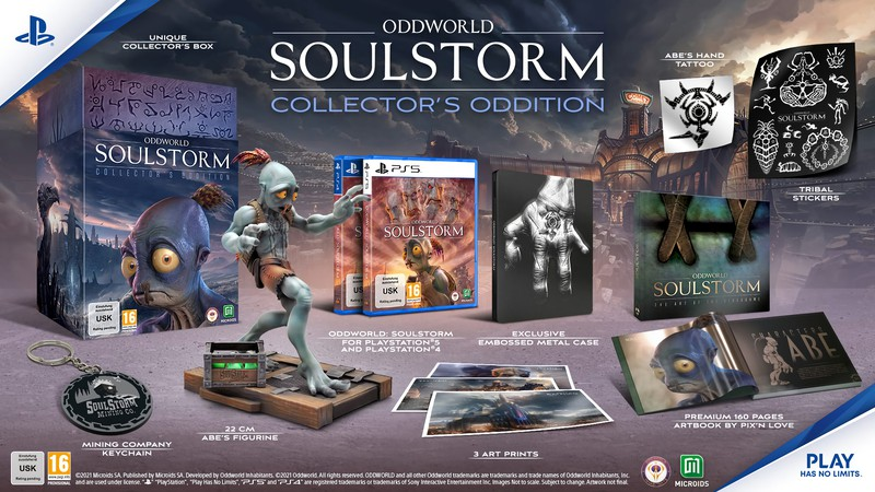 Руководитель разработки Oddworld: Soulstorm доволен состоянием игры