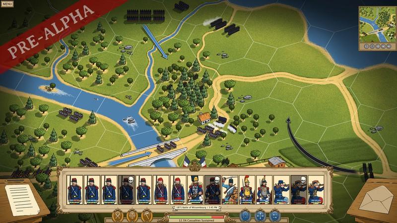 Уникальный визуальный стиль викторианских войн в первом трейлере стратегии Fire & Maneuver
